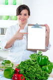 Blank Clipboard Sign Stock Photography