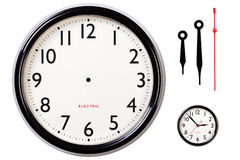 Free Blank Clock Face And Hands Stock Photography - 17332722