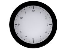 Blank clock (without needles) Royalty Free Stock Photography