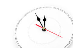 Blank clockface. Concept of time Royalty Free Stock Photography