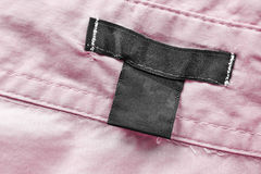 Blank clothes label Royalty Free Stock Images
