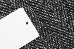 Blank clothes label Stock Photos