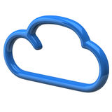 Blank cloud Royalty Free Stock Photography