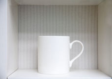 Blank coffee cup Royalty Free Stock Images