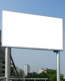 Blank Commercial Screen Royalty Free Stock Photos