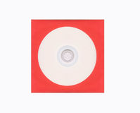 Blank compact disk Stock Photography