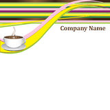 Blank _company. Coffee blank for your  business Stock Images