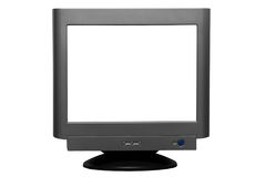 Blank computer crt screen  Stock Photography