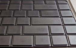 Blank computer keyboard Stock Image