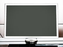 Blank computer monitor Royalty Free Stock Images