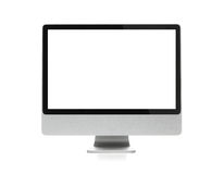 Blank computer monitor with clipping path Stock Photos