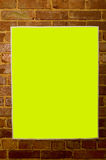 Blank Concert Poster Stock Photography