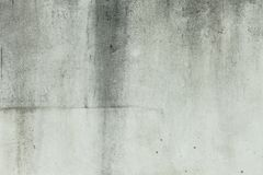 Blank concrete wall white color for texture background Royalty Free Stock Image
