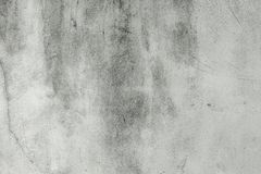 Blank concrete wall white color for texture background Royalty Free Stock Photos