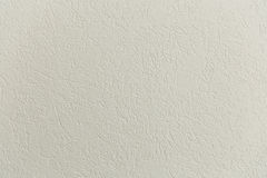 Blank concrete wall white color for texture background Stock Image