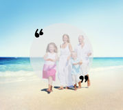 Blank Copy Space Holiday Quotation Mark Summer Concept Stock Images