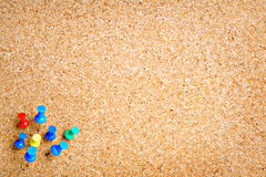 Blank cork board Royalty Free Stock Images