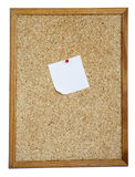 Blank Cork board Stock Images