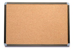 Blank Cork board with wooden frame Stock Image