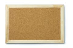 Blank cork notice board Stock Photos