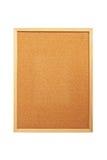 Blank corkboard. Isolate on white background royalty free stock image