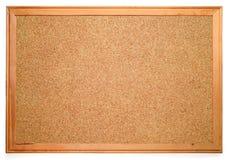 blank corkboard Royaltyfria Bilder
