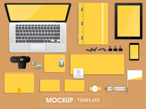 Blank corporate identity kit for business. Royalty Free Stock Image