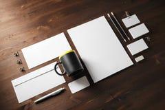 Blank corporate identity royalty free stock photo