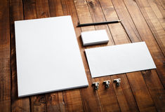 Blank corporate identity Stock Photography