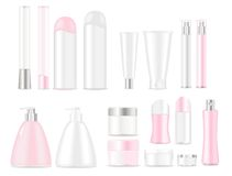 Blank cosmetic tubes Royalty Free Stock Photo