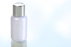 Blank Cosmetics Bottle Royalty Free Stock Photography