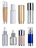 Blank Cosmetics Containers Royalty Free Stock Images