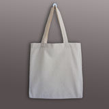 Blank cotton tote bag, design mockup. Stock Images