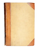 Blank cover of 19-th century book royalty free stock photos