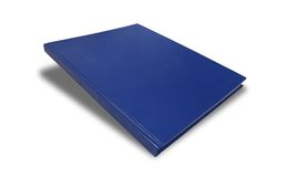 Blank Cover Book. On white background Royalty Free Stock Images