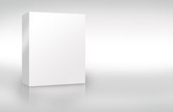 Blank Cover Box 2 Stock Photo
