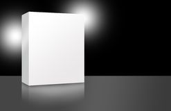 Blank Cover Box Design 3 Royalty Free Stock Photo