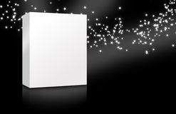 Blank Cover Box Star Night Royalty Free Stock Image