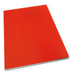 Blank cover magazine page. Blank red cover magazine page Royalty Free Stock Image