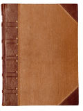 Blank cover of an old book Royalty Free Stock Images