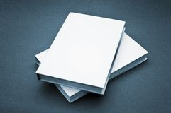 Blank cover white book Royalty Free Stock Image