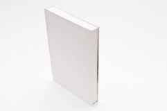Blank cover white book Royalty Free Stock Photo