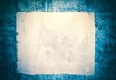 Blank creased crumpled paper texture background Stock Photography