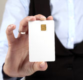 Blank Credit Card Royalty Free Stock Photography