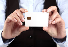 Blank Creit Card Royalty Free Stock Image