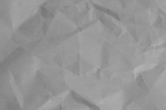 Blank crumpled paper background Stock Images