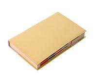 blank dagbok Arkivbild