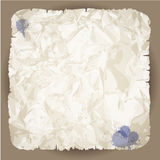Blank Damaged Paper Royalty Free Stock Images