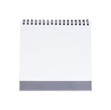 Blank desk calendar Stock Images