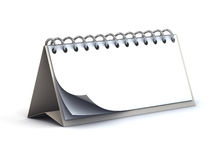 Blank desk paper calendar Stock Images